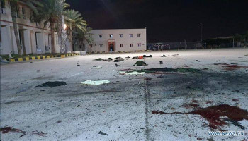 Tripoli military school hit by deadly airstrike