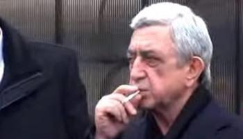 «Ես խնդրում եմ ինձ հանգիստ թողեք». Սերժ Սարգսյանը՝ լրագրողներին