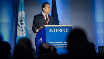 Chinese court sentences ex-Interpol chief to 13.5 years in jail — media