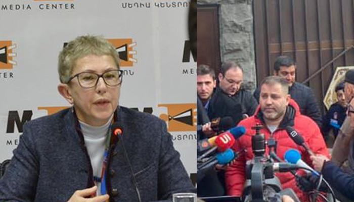 Лариса Минасян: Ни телефонного, ни личного, ни какого-либо другого разговора с Пашиняном у меня не было
