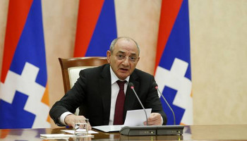 Bako Sahakyan sent a congratulatory address on the Artsakh Revival Day