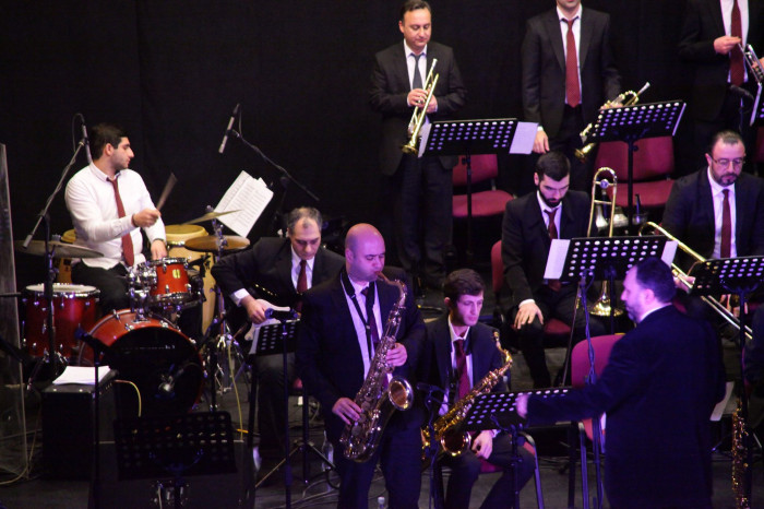 Ջազ նվագախումբը հանդիսատեսին ներկայացրեց ծաղկաքաղ՝ Գերշվինի ժառանգությունից