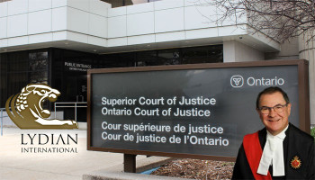 Ontario Superior Court informed about misleading information in mining company Lydian's affidavit: AEF