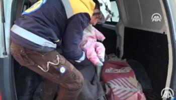 Российская авиация разбомбила укрытие беженцев в Сирии: погибло 16 человек. Видео 18+