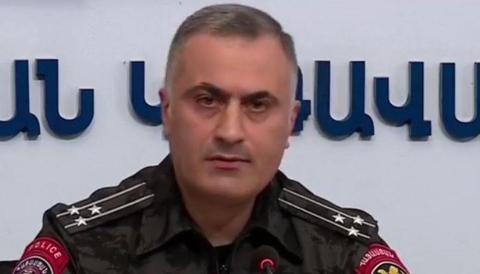 Ոստիկանապետի տեղակալի ասուլիսը՝ ուղիղ միացմամբ