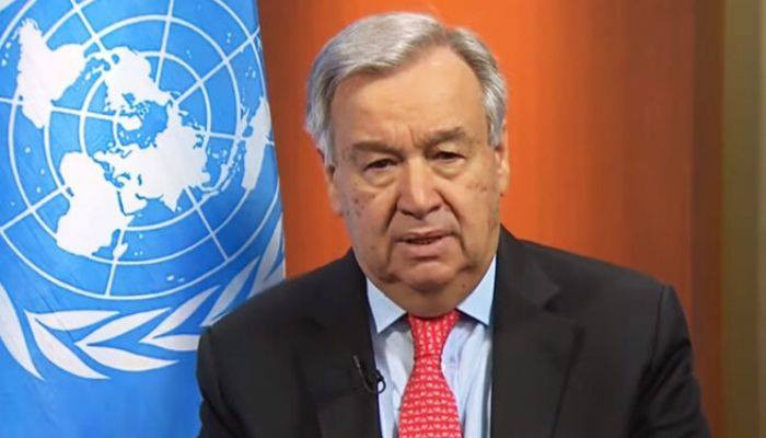 UN Secretary-General will hold a virtual stakeout on #COVID_19