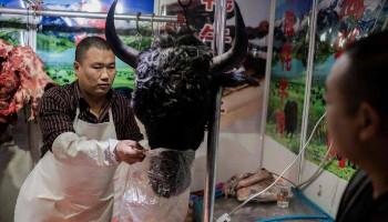 Рынок в Ухани открыт, летучие мыши выставлены на продажу. #mignews