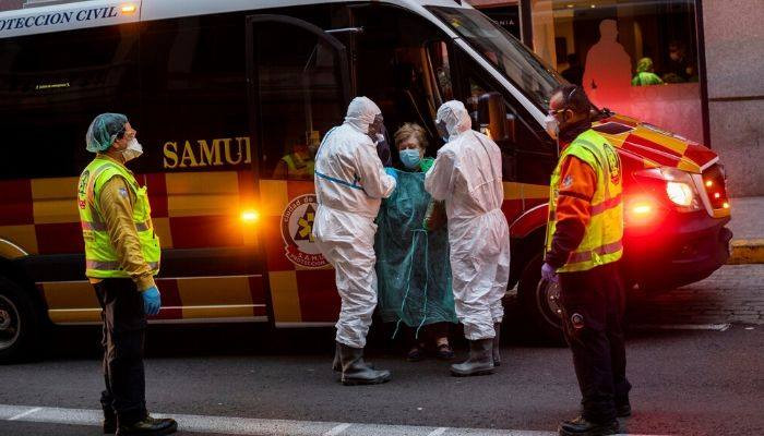 Spain reports rise in daily virus cases. #NYT