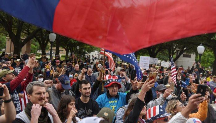 Conservatives Fuel Protests Against Coronavirus Lockdowns