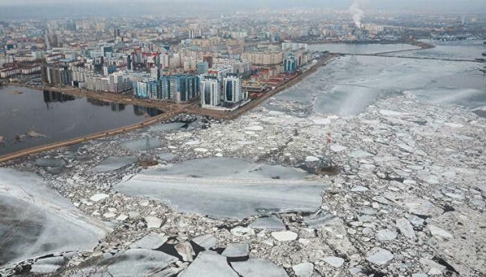В Якутске 13 мая ввели режим ЧС из-за угрозы паводка
