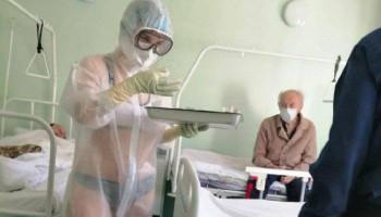 Պարզվել է՝ ներքնազգեստի վրայից պաշտպանիչ արտահագուստ կրում են նաև այլ բուժաշխատողներ