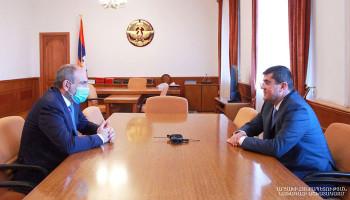 Араик Арутюнян: Моя первая рабочая встреча была с Николом Пашиняном