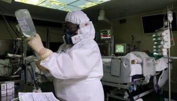 Число заболевших коронавирусом в России превысило 350 тыс.