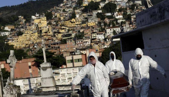 Brezilya'da ölü sayısı 23 bin 473'e yükseldi
