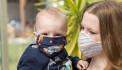 Детям до 2 лет носить защитные маски опасно