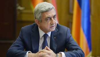 We will face again the same threat if we don't draw lessons from history. Serzh Sargsyan