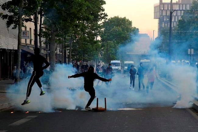 Tensions mar Paris protest as Floyd outrage goes global