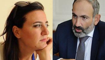 «Հուշե՛ք վարչապետին, որ ինքը վարչապետ է». Զարուհի Մեջլումյան