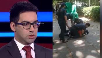 Ռուստամ Բադասյանը՝ ոստիկանների կողմից քաղաքացուն բերման ենթարկելու տեսանյութի մասին