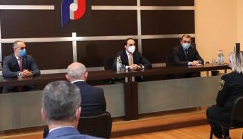 Տիգրան Ավինյանն աշխատակազմին է ներկայացրել ՊԵԿ նորանշանակ նախագահին