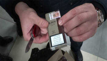 В Воронеже задержали самолёт из Еревана с 16 тоннами нелегальных сигарет