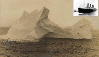 Photo of the Titanic-Sinking Iceberg Found After 108 Years