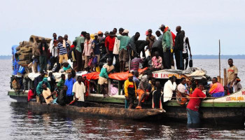 DR Congo Leaders Confirm 61 Deaths After Boat Capsizes On Lake Kivu