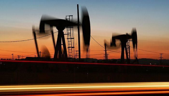 Цена на нефть марки #WTI растёт в ходе торгов