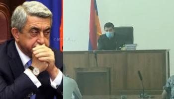 Սերժ Սարգսյանի և մյուսների գործով դատական նիստը՝ ուղիղ միացմամբ