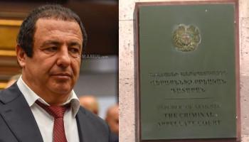 Апелляционный суд рассматривает жалобы по делу Гагика Царукяна