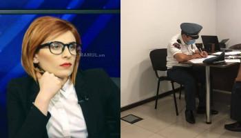 «Ոստիկանները հիմա էլ TV5-ում են». Ագնեսա Խամոյան