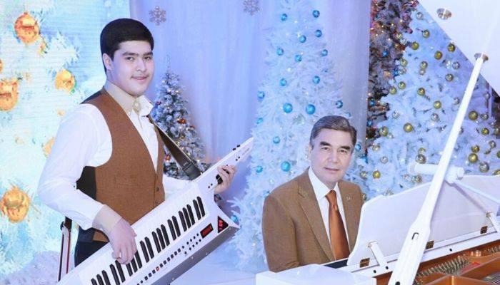 """Внук Бердымухамедова получил премию за """"вклад в обогащение национального искусства"""""""