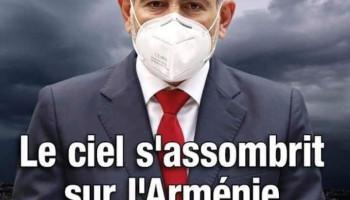 «Ֆրանս-Արմենի» հանդեսի հերթական համարը լույս տեսավ «Հայաստանի երկնքում ամպեր են կուտակվում» գրառումով