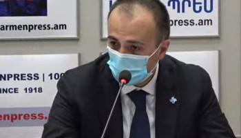 Арсен Торосян: В Армении случаев повторного заражения коронавирусом не зафиксировано