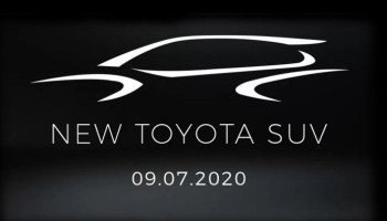 Toyota announced a new crossover on a fresh teaser
