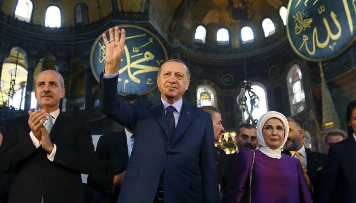 Söylü: ''Danıştay kararını verdi: Ayasofya camiye dönüştürülecek''