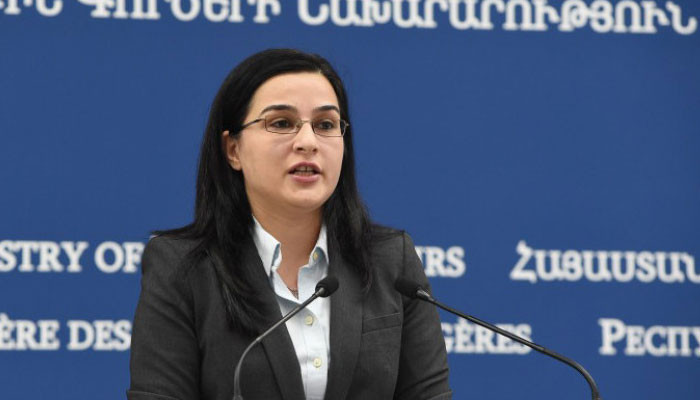 Anna Naghdalyan: Aggression against the security of the civilian population of Armenia will receive a proportionate response