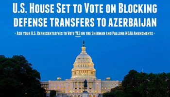 U.S. House to сonsider measures blocking transfer of defense articles to Azerbaijan