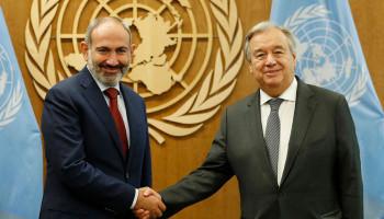 Nikol Paşinyan ile Antonio Guterres, bir telefon görüşmesi yaptı