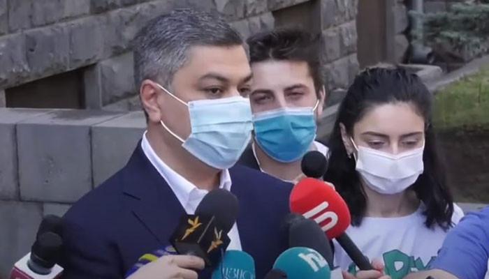 Артур Ванецян: Я пришел в СНБ, но отказался давать разъяснения