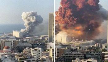 В МВД Ливана заявили, что в порту Бейрута взорвалась аммиачная селитра
