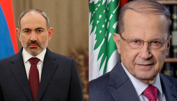 PM Pashinyan holds phone conversation with Lebanese President Michel Aoun