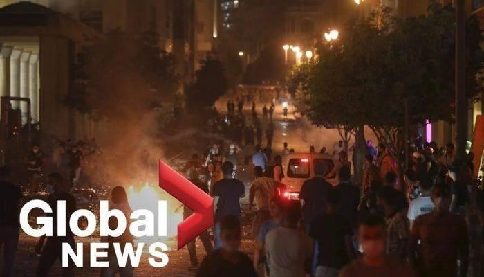 Բեյրութում գիշերը բախվել են ոստիկաններն ու հակաիշխանական ցուցարարները