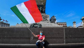 Big jump in Italy's daily new cases driven by travel