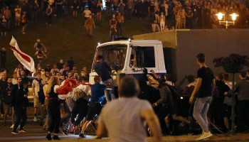 Лукашенко заявил, что протестующими в Белоруссии управляли из-за рубежа