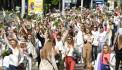 Протестующие вышли на площадь Независимости в Минске