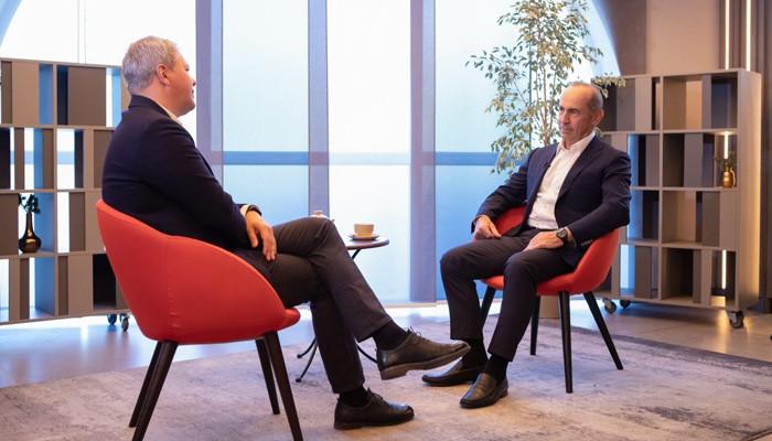 Интервью Роберта Кочаряна телеканалу #РБК