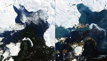 Sea level rise from ice sheets track worst-case climate change scenario