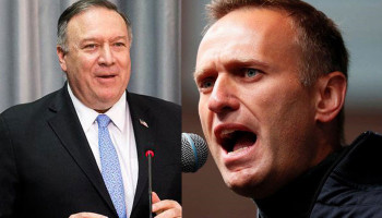 Pompeo: 'substantial chance' senior Russian officials behind Alexei Navalny poisoning