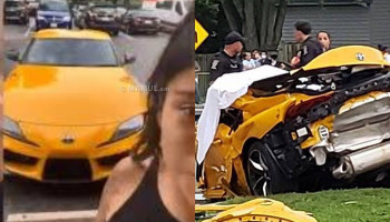 Mother, 25, facing DUI charges posted an Instagram video showing off her sports car just moments before she killed herself and a passenger in a high-speed crash
